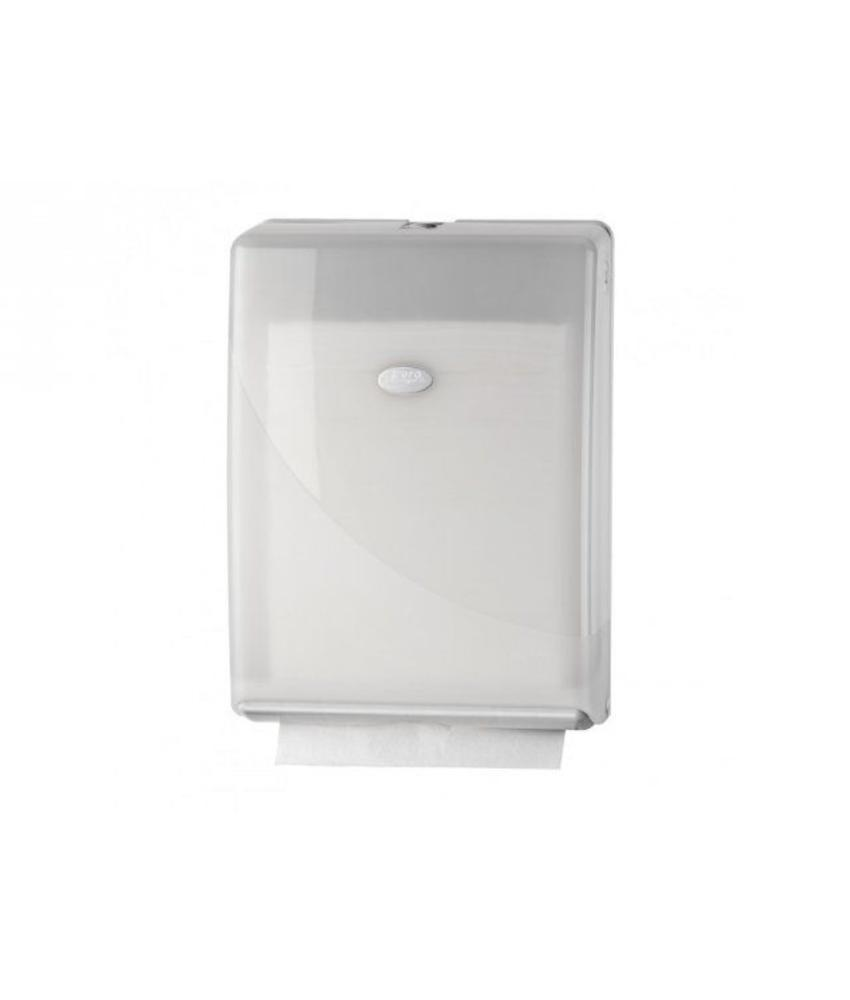 Euro Products Pearl white vouwhanddoekdispenser