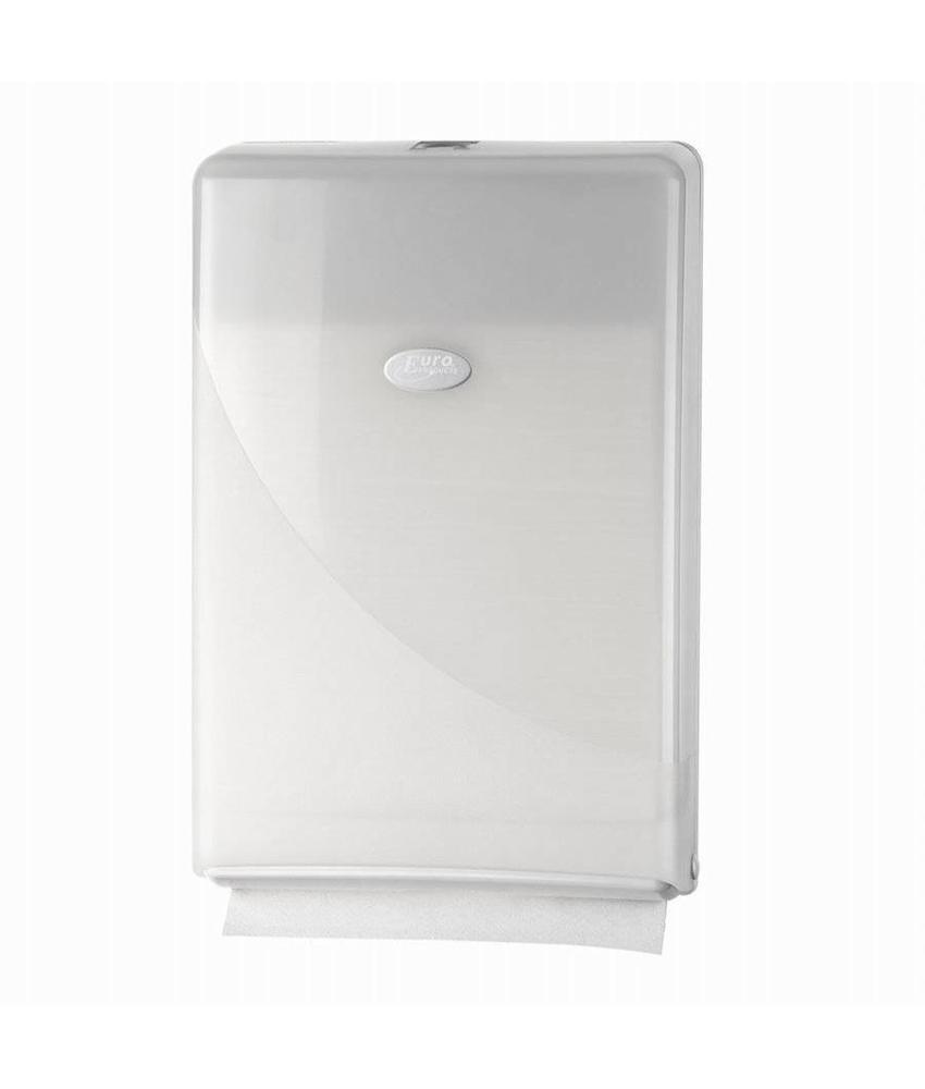 Euro Products Pearl White Handdoekdispenser - Minifold