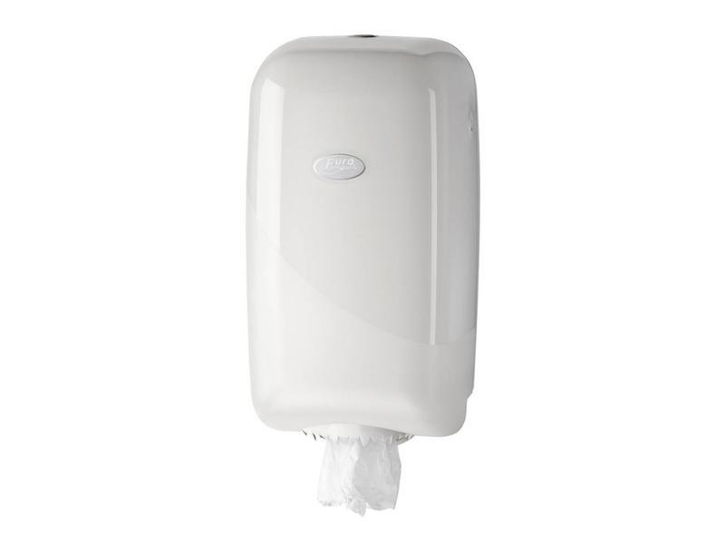 Euro Products Pearl White Poetsrol Dispenser - Mini