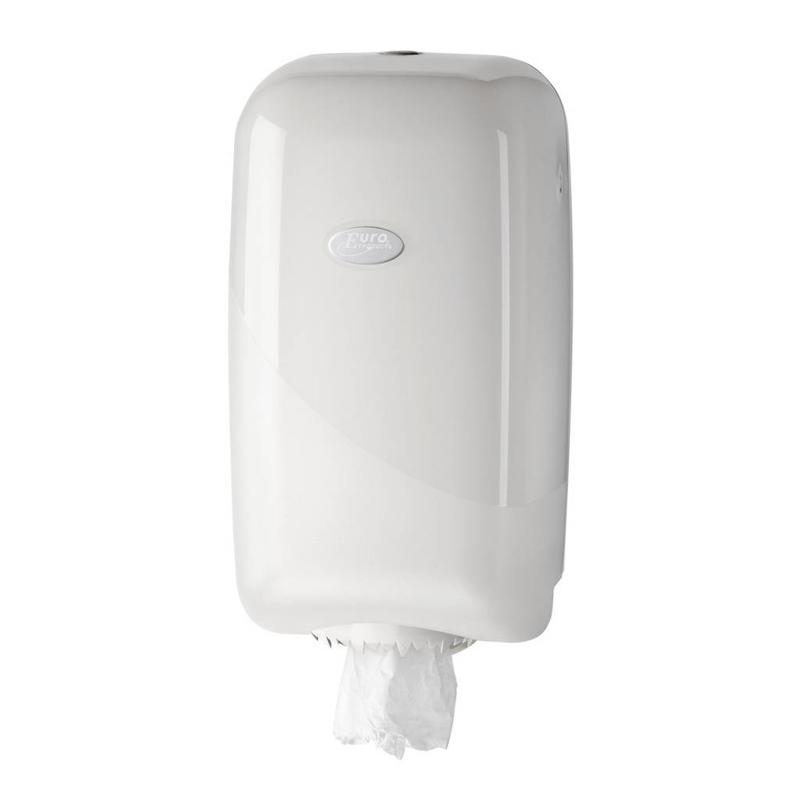Euro Products Pearl white mini dispenser