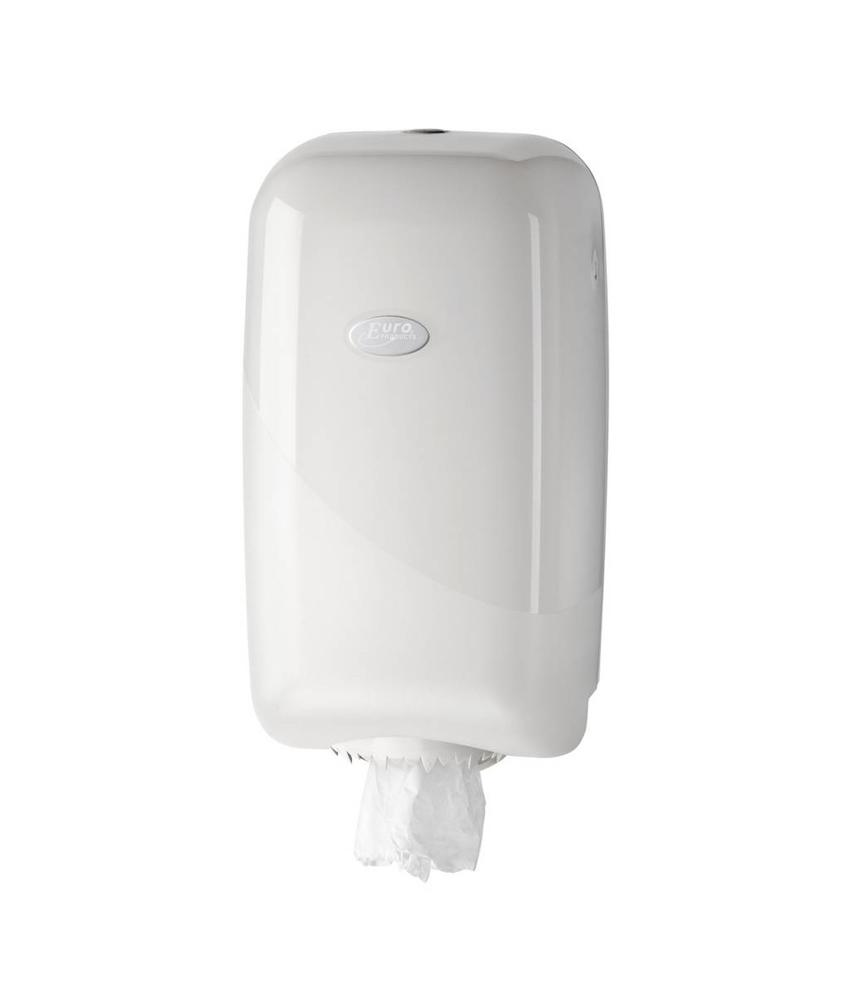 Euro Products Pearl white mini dispenser
