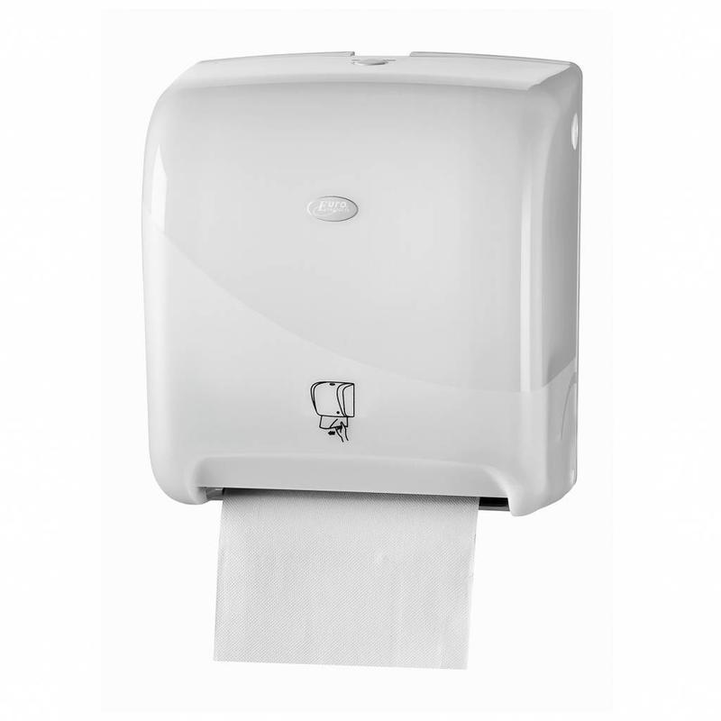 Pearl White Handdoekautomaat - Tear & Go Euro Matic
