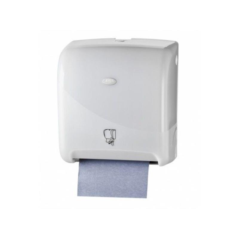 Pearl White Handdoekautomaat - Tear & Go Euro Motion