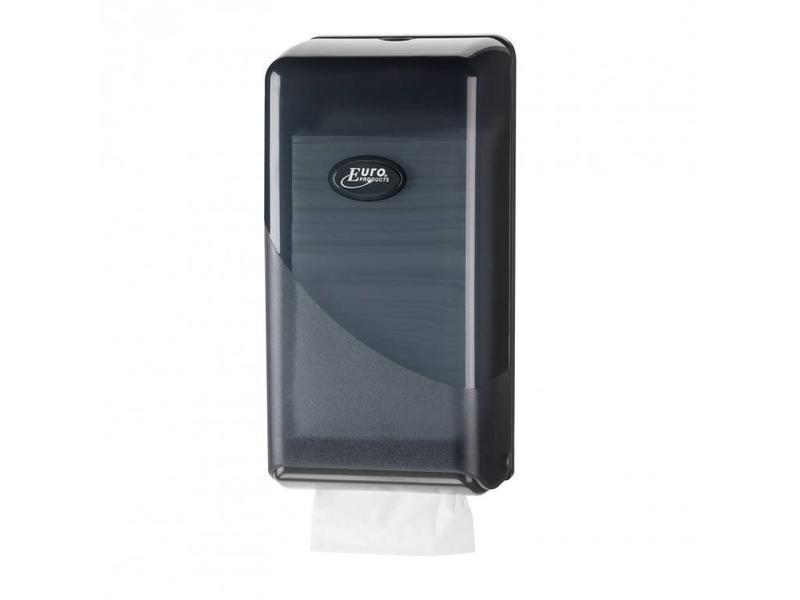 Euro Products Pearl Black Toilerpapier dispenser - Bulkpack