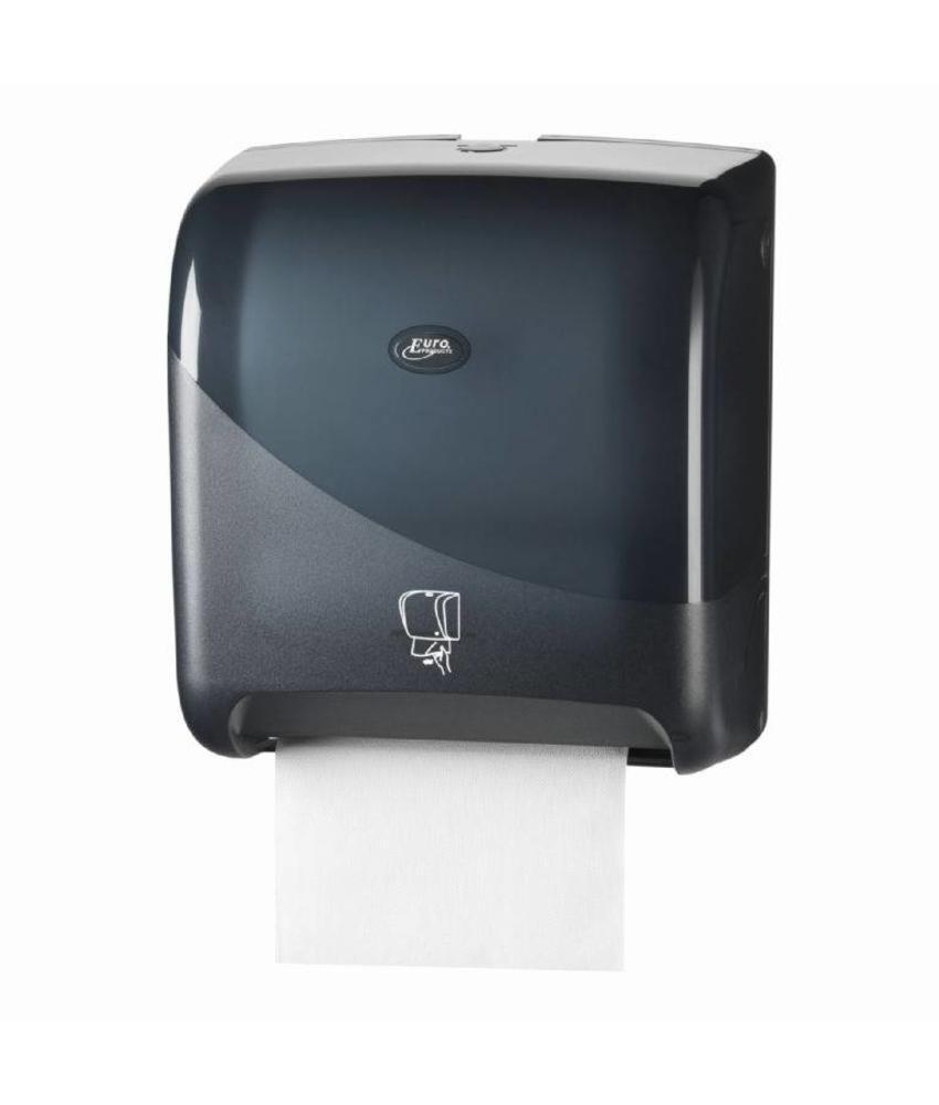 Euro Products Pearl Black Handdoekautomaat - Tear & Go Euro Motion