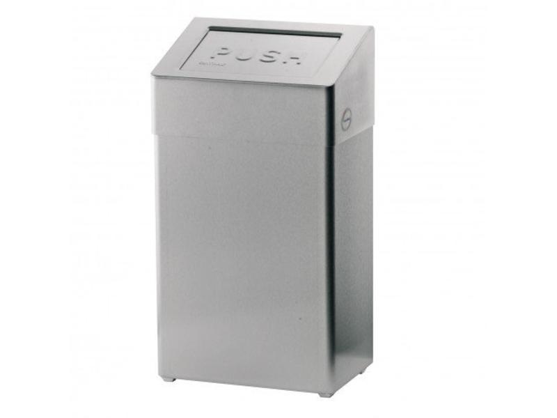 Euro Products Euro Products Afvalbak met zelfsluitende klep - 18 liter