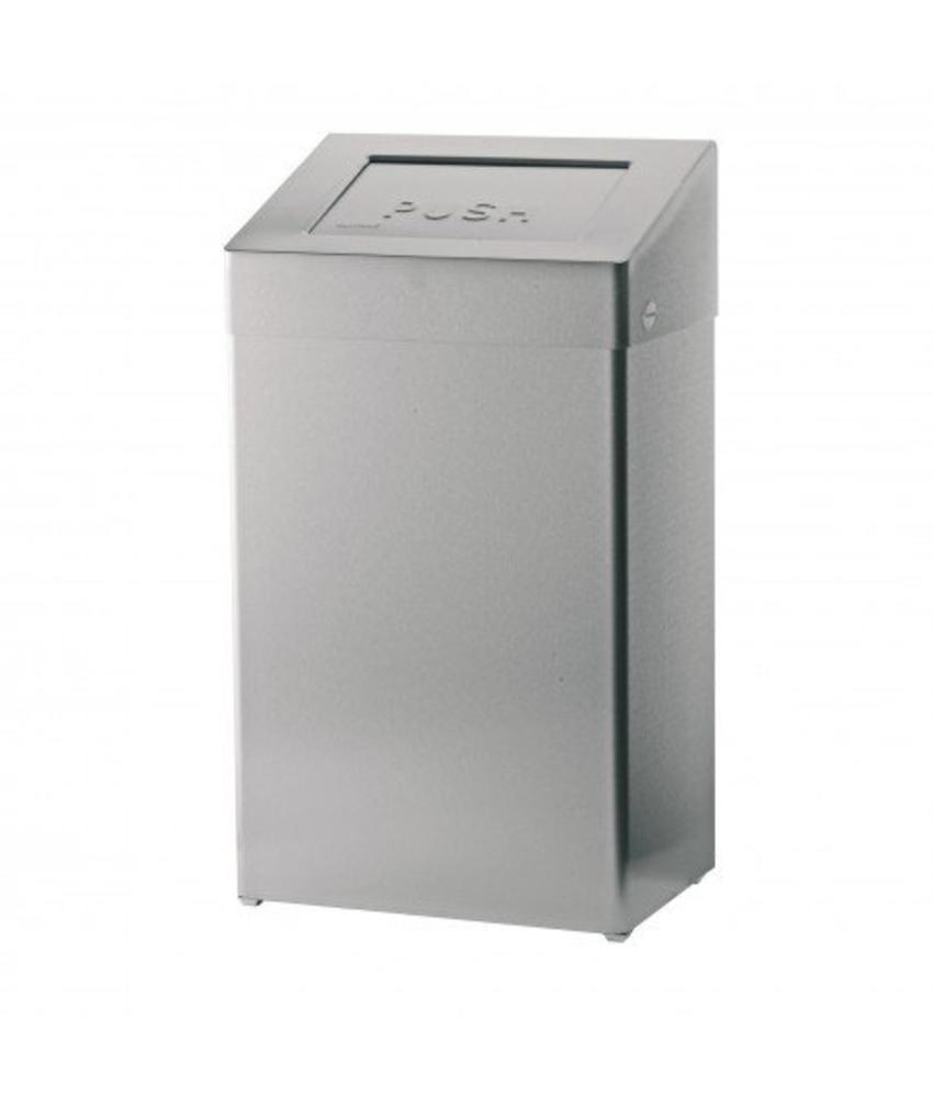 Afvalbak met zelfsluitende deksel - 50 liter