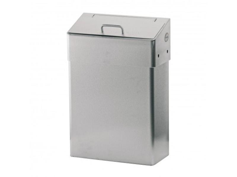 Euro Products Hygiënebak met dichte inwerpklep - 10 liter