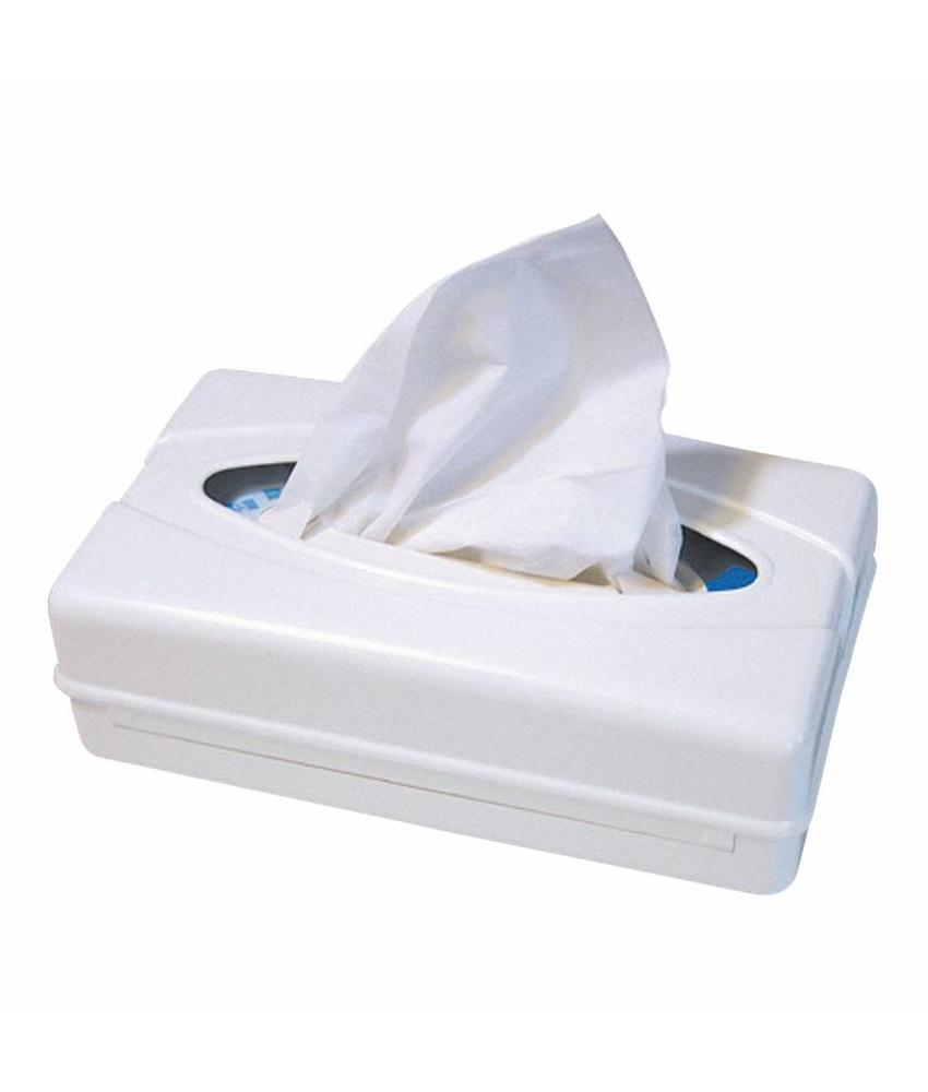 Facial tissues dispenser