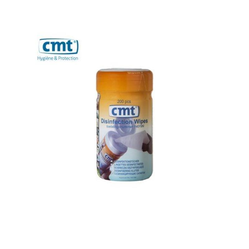 CMT Desinfectie doekjes, wit 200 stuks
