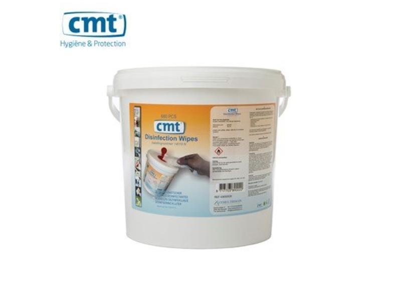 CMT Desinfectie Desinfectie doekjes, blauw 680 stuks