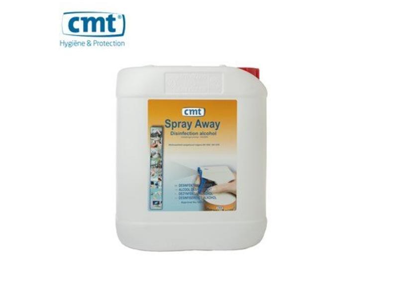 CMT Desinfectie Spray-Away Desinfectie Alcohol, 5 liter