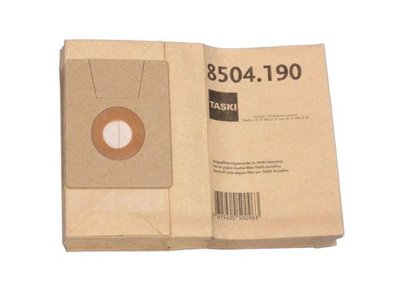 Johnson Diversey Dubbelfilter stofzak papier - 10 stuks