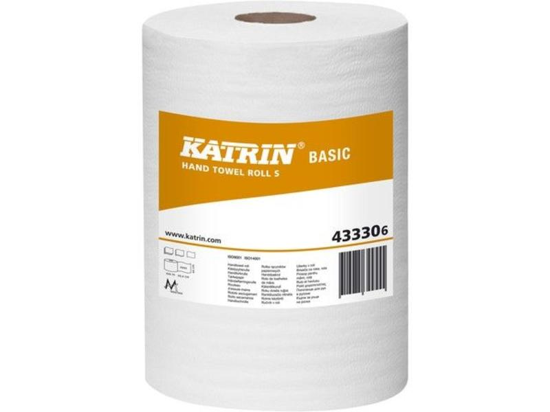 Katrin Basic Centerfeed Handdoekrol S, 1-laags