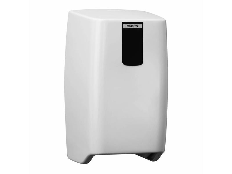 Katrin Katrin System toiletrol dispenser duo licht grijs 27x15x16,5 cm