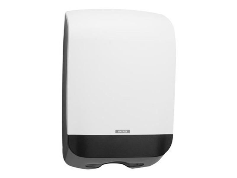 Katrin Vouwhanddoek dispenser M wit, 450x301x146 mm
