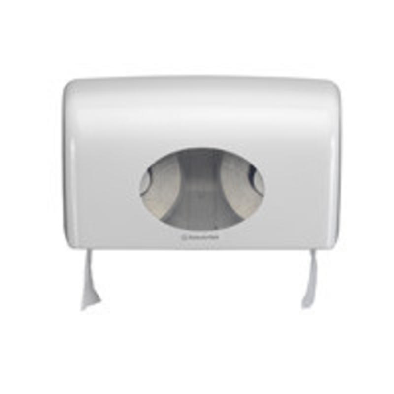 AQUARIUS* Toilettissue Dispenser - Kleine rollen - Wit