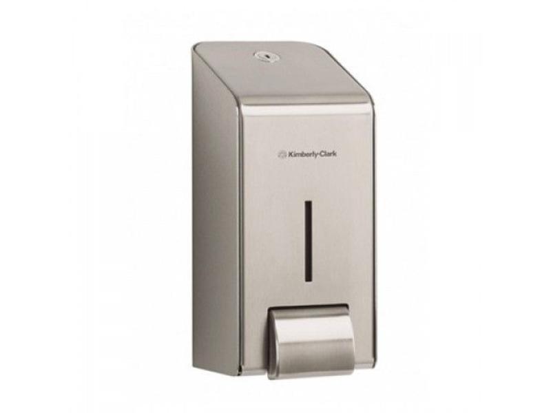 Kimberly Clark KIMBERLY-CLARK PROFESSIONAL* Handreiniger Dispenser - Cassette / 1 Ltr - Roestvrij staal