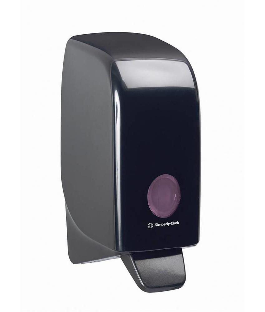 AQUARIUS* Handreiniger Dispenser - Cassette / 1 Ltr - Zwart