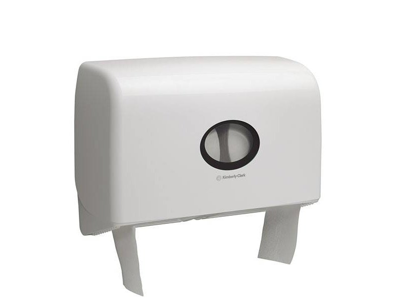 Kimberly Clark AQUARIUS* Toilettissue Dispenser - Mini Jumbo, Duo - Wit