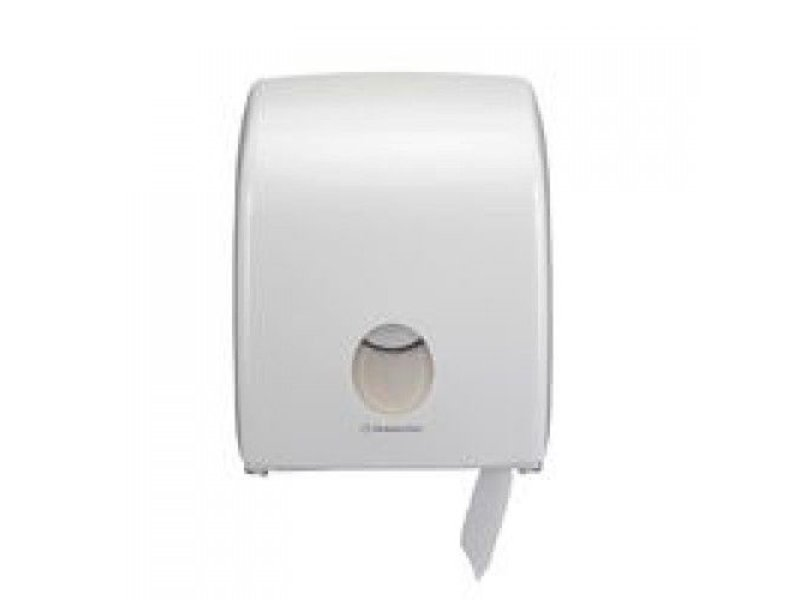 Kimberly Clark AQUARIUS* Toilettissue Dispenser - Mini Jumbo, Enkel - Wit