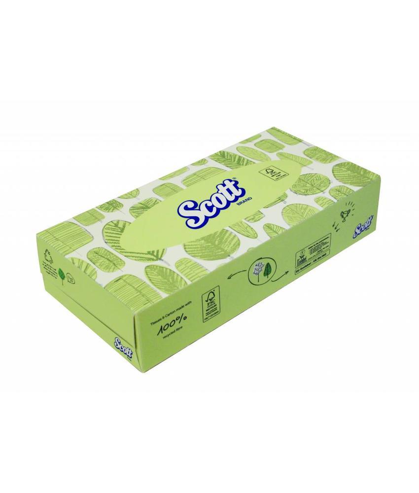 SCOTT® Facial Tissue - Standaard - Wit