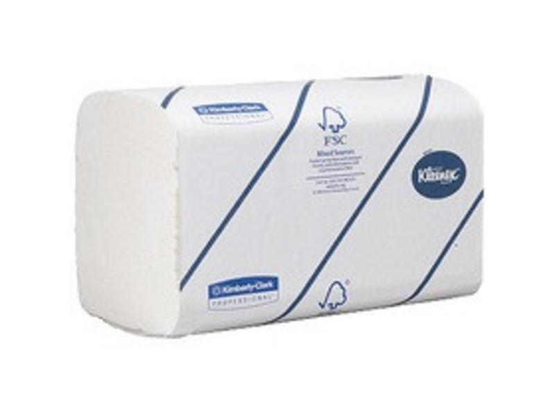 Kimberly Clark KLEENEX® ULTRA Handdoeken - Intergevouwen / Medium - Wit