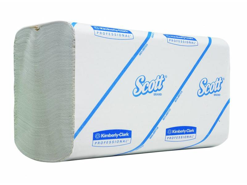 Kimberly Clark SCOTT® PERFORMANCE Handdoeken - Intergevouwen / Klein - Wit