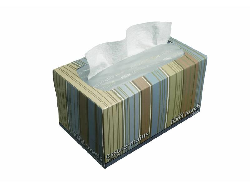 Kimberly Clark KLEENEX® ULTRA SOFT POP-UP Handdoeken - Intergevouwen / Medium - Wit