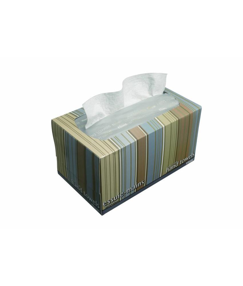 KLEENEX® ULTRA SOFT POP-UP Handdoeken - Intergevouwen / Medium - Wit