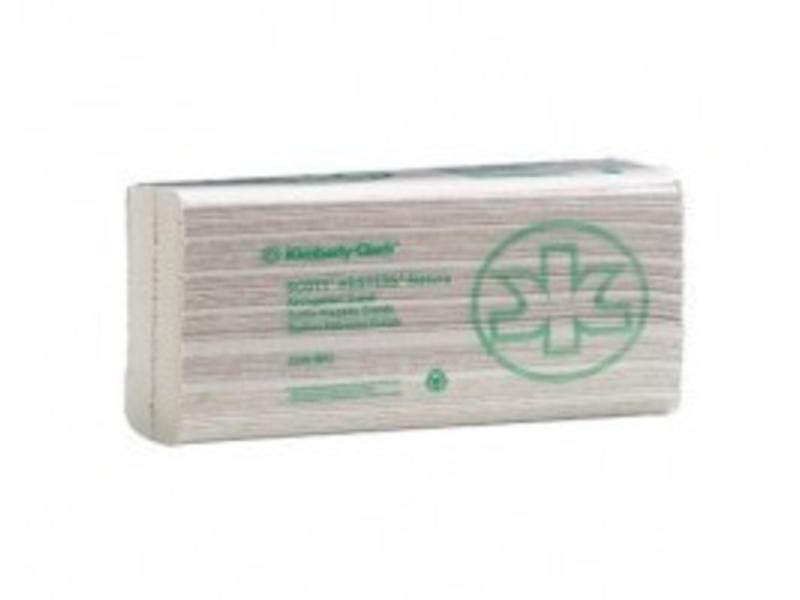 Kimberly Clark SCOTT® NATURA Handdoeken - C gevouwen / Groot - Wit
