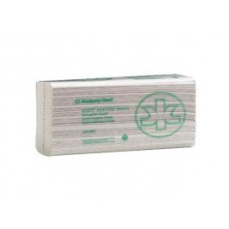 SCOTT® NATURA Handdoeken - C gevouwen / Groot - Wit