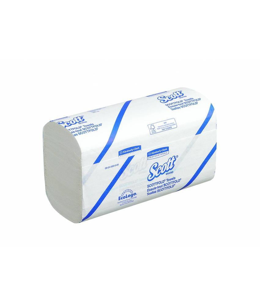 SCOTT® SCOTTFOLD Handdoeken - M gevouwen / Medium - Wit