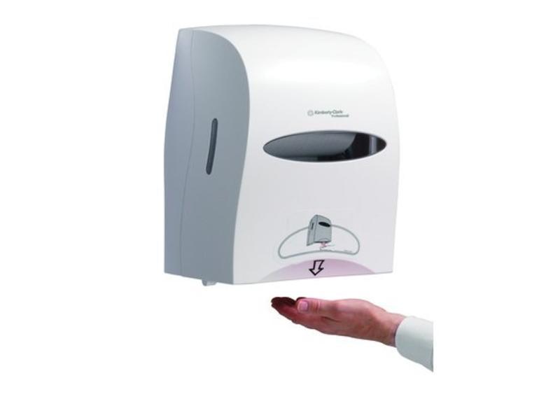 Kimberly Clark KIMBERLY-CLARK PROFESSIONAL* Elektronische No Touch Handdoekroldispenser - Wit