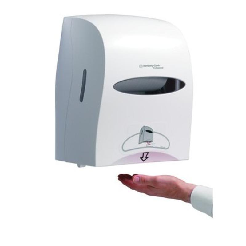 KIMBERLY-CLARK PROFESSIONAL* Elektronische No Touch Handdoekroldispenser - Wit