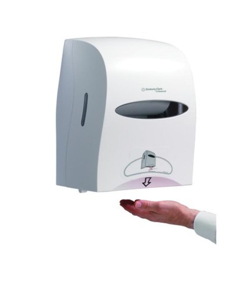KIMBERLY-CLARK PROFESSIONAL* Elektronische No Touch Handdoekroldispenser - Wit