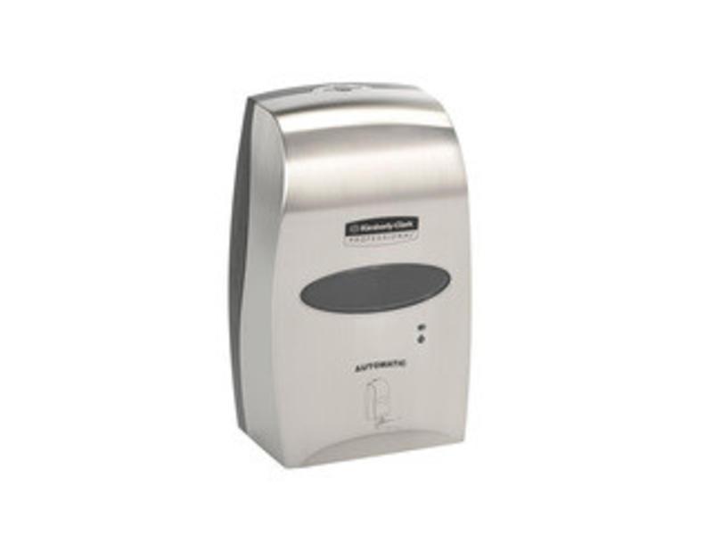 Kimberly Clark KIMBERLY-CLARK PROFESSIONAL* Elektronische No Touch Zeepdispenser - Cassette / 1.2 Ltr - Geborsteld Metalen