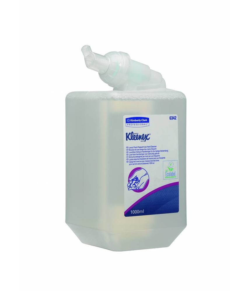 KLEENEX® Luxe foam handreiniger voor veelvuldig gebruik - Cassette / 1 Ltr - Transparant