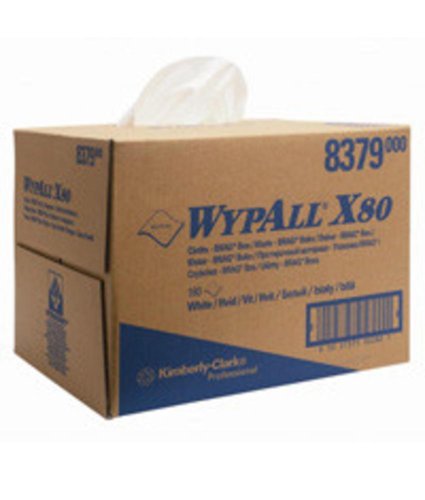WYPALL* X80 Doeken - Draagdoos - Wit