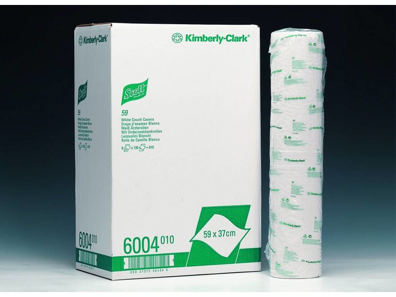 Kimberly Clark SCOTT® 59 Onderzoekbankrollen - Wit
