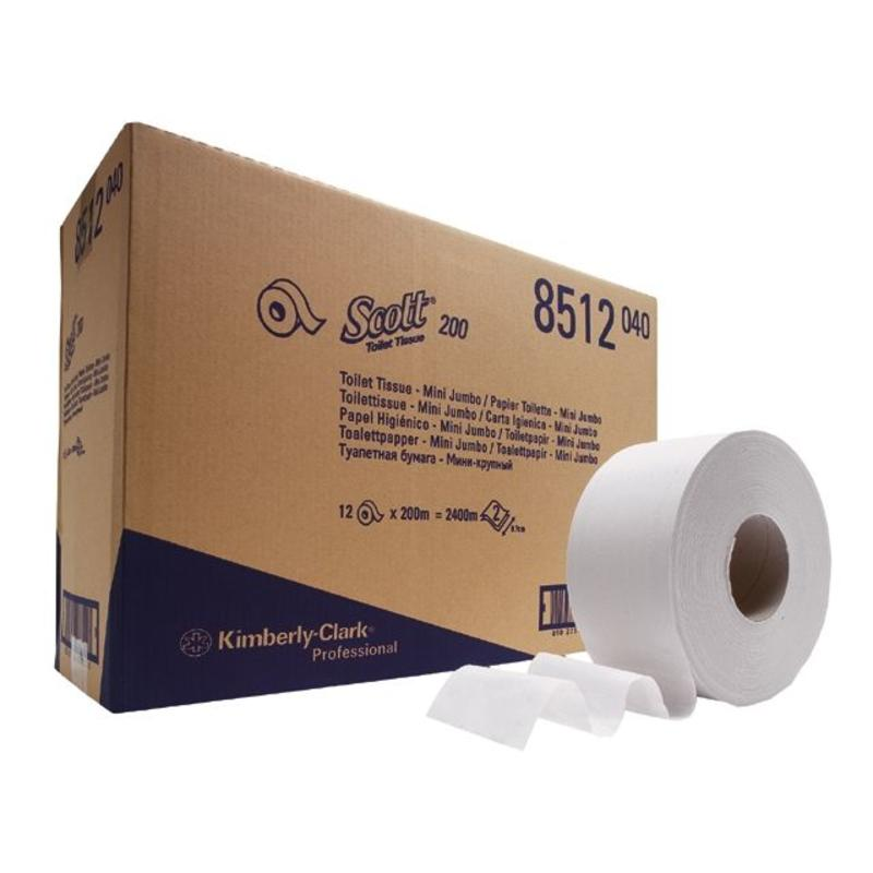 SCOTT® PERFORMANCE Toilettissue - Jumbo / 200 M / 76 - Wit