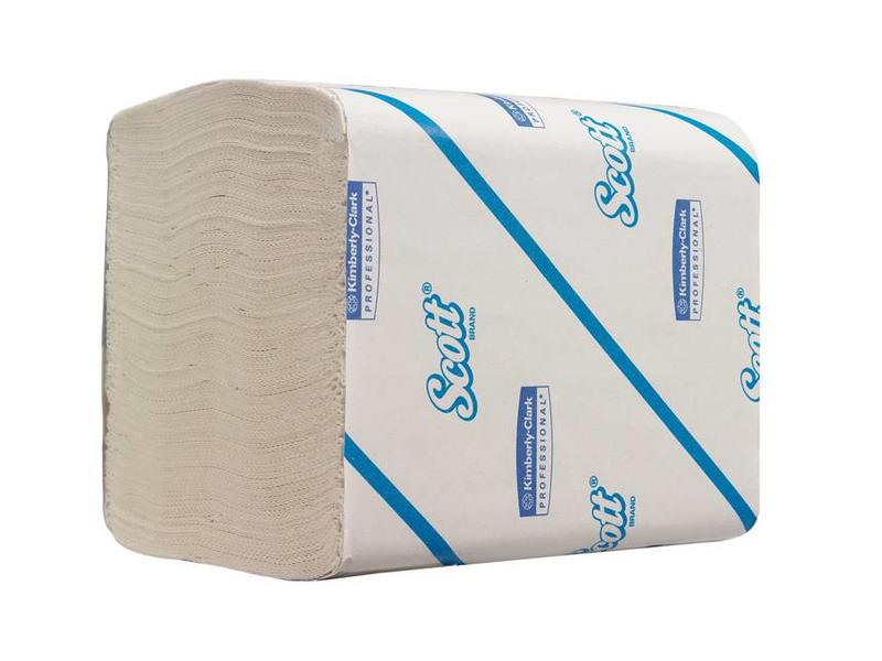 Kimberly Clark SCOTT® 36 Toilettissue - Gevouwen / 220 - Wit