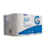 Kimberly Clark SCOTT® PLUS Toilettissue Rollen - Standaard / 350 - Wit