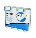 Kimberly Clark HOSTESS* 400 Toilettissue Rollen - Kleine rollen / 400 - Wit