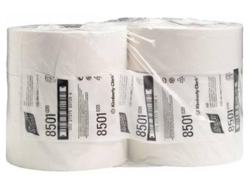 Kimberly Clark SCOTT® PERFORMANCE Toilettissue - Jumbo / 400 M / 76 - Wit