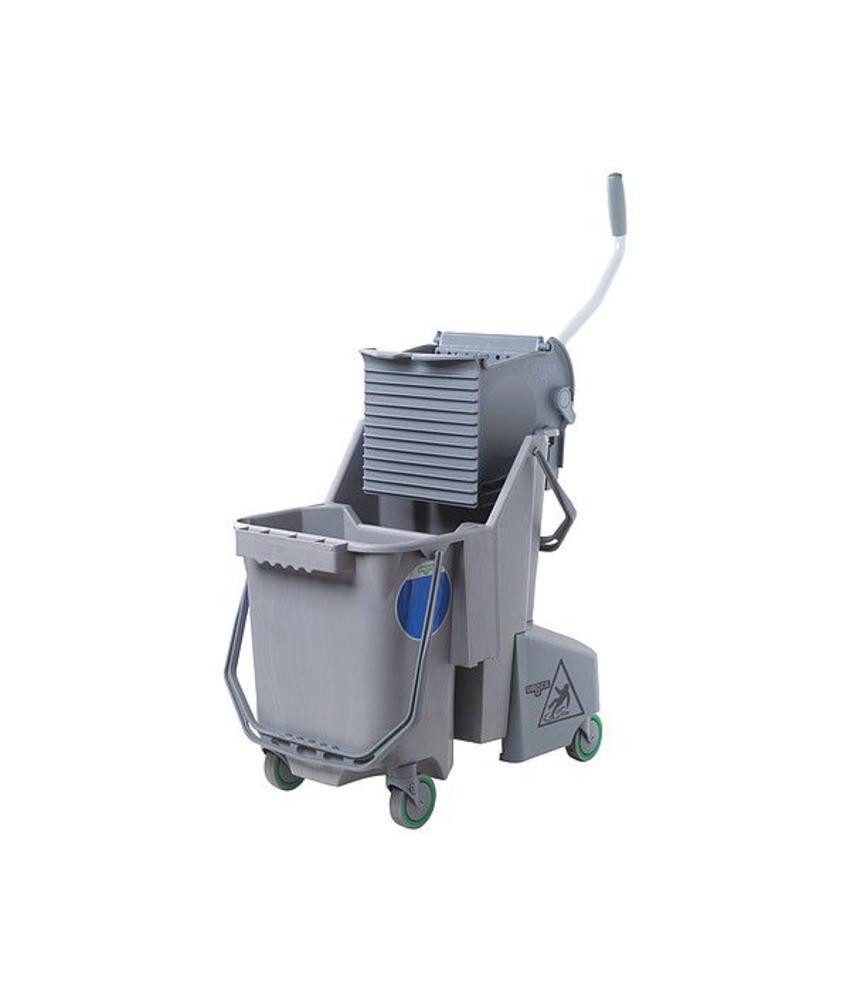 SmartColor™ Combo 30l (Rolemmer + Pers), grijs