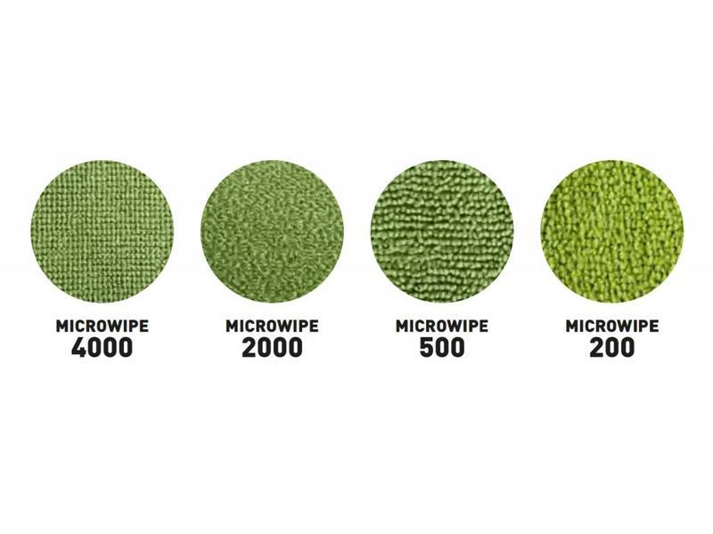 Unger Unger SmartColor™ MicroWipe 4000, Microvezeldoek, geel
