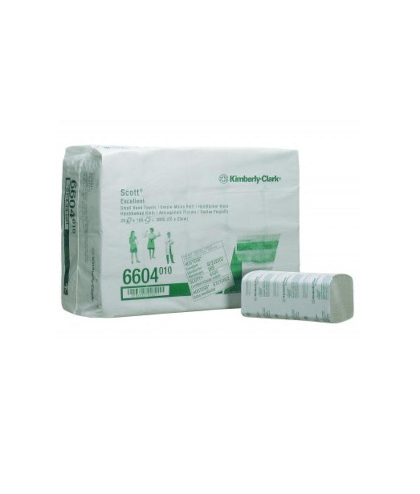 SCOTT® EXCELLENT Handdoeken - Intergevouwen / Klein - Wit