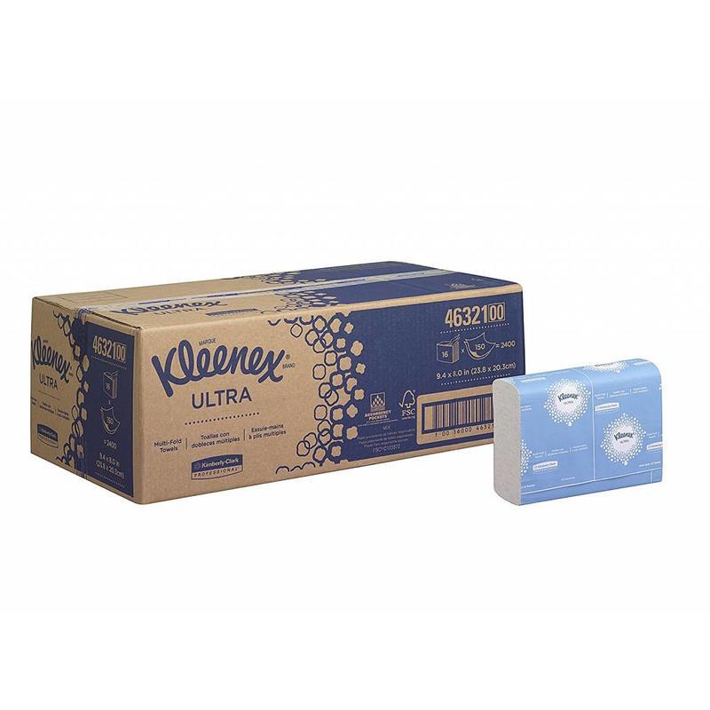 KLEENEX® ULTRA Handdoeken - MultiFold / Klein - Wit