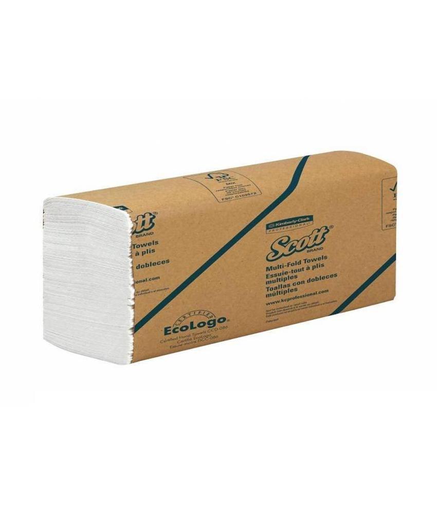 SCOTT® Handdoeken - MultiFold - Wit